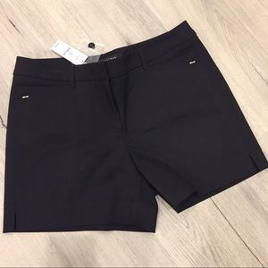 White House Black Market Black Stretch Shorts